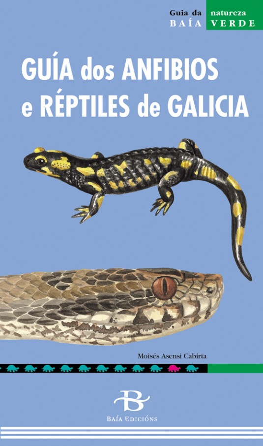 Guía dos anfibios e réptiles de Galicia