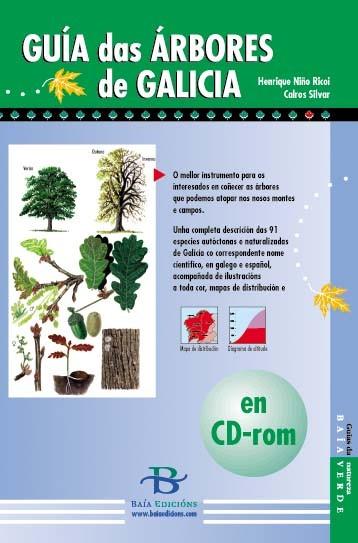 Guía das árbores de Galicia en CD-rom
