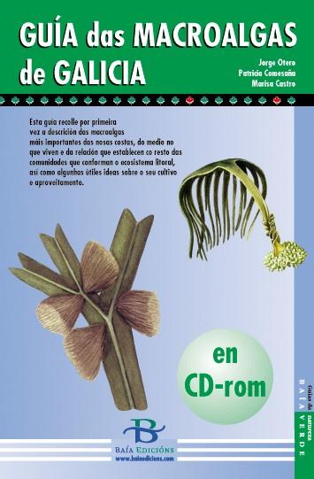 Guía das macroalgas de Galicia en CD-rom