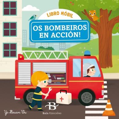 Os bombeiros en acción!
