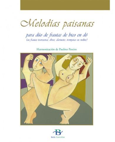 Melodías paisanas para dúo de frautas de bico en dó